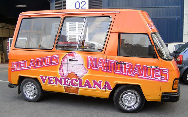 Servicio de rotulación integral de veículos para empresas o negocios