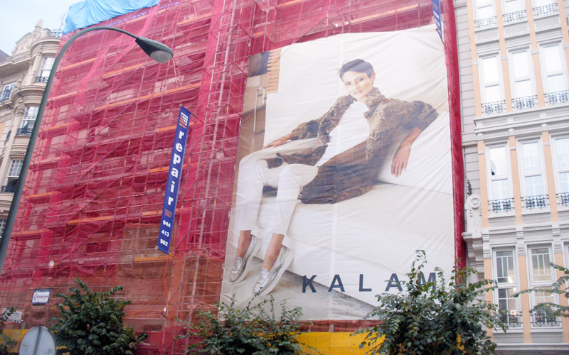 servicio de rotulación: exposiciones y lonas publicitarias