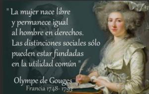 Olympe de Gougs, filósofa y política francesa